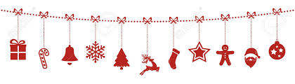 ornaments hanging rope isolated background royalty