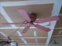 Pink Ceiling Fans by Murray Feiss Tallman Ceiling Fan Youtube