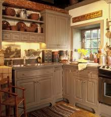 rustic kitchen cabinet designs gray countertop beige marble wall