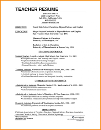 37 Good Resume Objectives Examples by 9 Career Objectives For Teachers Parts Of Resume Lecturer