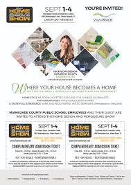 100 miami home design and remodeling show hours 100 miami