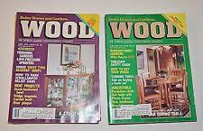 wood magazine ebay