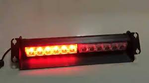 Led Emergency Dash Lights 12 Leds 12v Dash Lights For Car Emergency Vehicle Light Visor