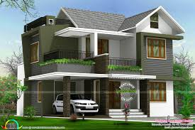 4bhk floor plan and elevation in 5 cent kerala home design and