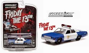 police car toy random but awesome friday the 13th police car gets matchbox
