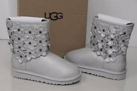 ugg sale lebanon ugg uggs flora silver leather youth