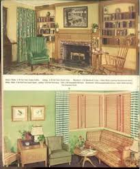 vintage home interior design 1930s american living room like today the living rooms of