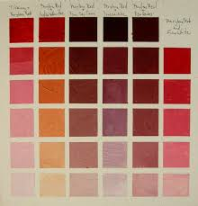 What Colors Go With Burnt Orange Chart Burnt Orange Paint Color Chart