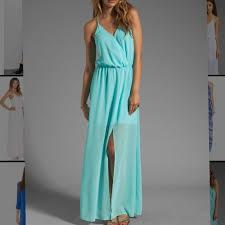 65 off rory beca dresses u0026 skirts rory beca ice aqua blue maxi