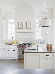 white kitchen white backsplash subway tile kitchen