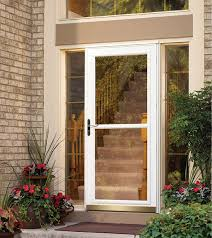 storm door with screen and glass front doors entry doors patio doors garage doors storm doors
