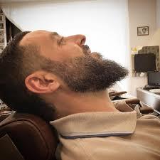 ducktail beard trim tattoo barber beard goodmorning