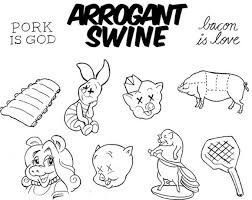 get a free pig tattoo tonight at arrogant swine u0027s grand opening