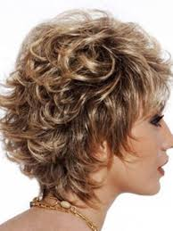 stacked in back brown curly hair pics short layered haircuts for women front and back view back view
