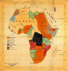 Africa Map by Colonial Cloth Map Of Africa 1908 Battlemaps Us