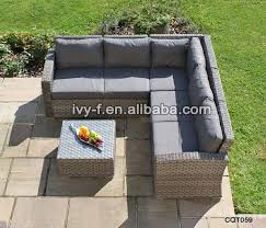 Wicker Table L L Shaped Rattan Sofa Sets L Shaped Rattan Sofa Sets Suppliers And