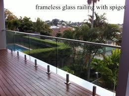 Frameless Glass Handrail Frameless Glass Railing Frameless Glass Balustrade