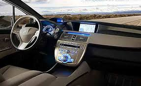 Honda Upholstery Fabric Honda Fcx Clarity Fuel Cell Car Review Hydrogen Cars Now