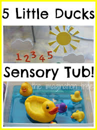 five little ducks storytelling water play the imagination tree