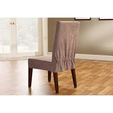 Dining Room Chair Slipcovers by Quickcover Twill Mid Pleat Relaxed Fit Dining Chair Slipcover With
