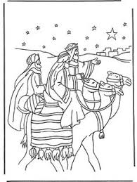 Three Kings Coloring Page Bible Coloring Book Pictures Wise Worship Coloring Page