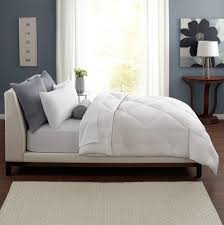 White Bedroom Grey Carpet Bedroom Down Comforters With White Curtain And Small Glass