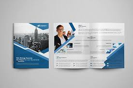 2 fold brochure template corporate bi fold brochure brochure templates creative market