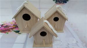 parrot home decor outdoor solid wood bird cage breeding nest parrot house indoor and