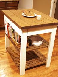 build your own butcher block kitchen island diy woodworking plan