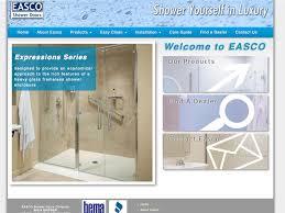 Easco Shower Door Inforest Launches Redesign Of Easco Shower Doors Website