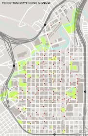 Downtown Houston Map Projects Initiatives Wayfinding Downtown District