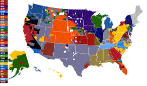 New York Gang Territory Map by Facebook Releases Map That Determines Nfl Fandoms By County Cbs Dc