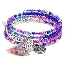 bracelet kit images Find the laur diy mini wire bracelet kit blue purple at michaels jpg
