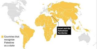 World Map Sweden by Map The Countries That Recognize Palestine As A State The
