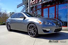 nissan altima custom rims nissan altima with 20in niche targa wheels exclusively from butler