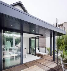 amenager une veranda vérandas à toiture plate vérancial des extensions contemporaines