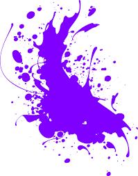 free vector graphic splat purple paint arts grunge free