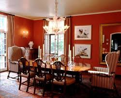 spanish colonial dining room westchester county ny traditional