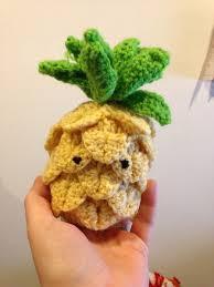 amigurumi leaf pattern free amigurumi pineapple crochet pattern charmed by