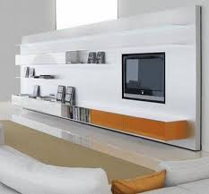 contemporary tv wall unit aluminum mdf modular elevenfive by