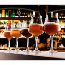 stemless martini glasses with chilling bowls rastal teku stemmed beer glass 14 2 oz
