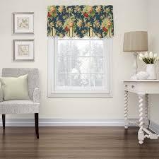 waverly sanctuary rose peek a boo window valance walmart com