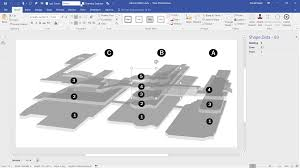 Visio Floor Plan Tutorial by Previewing The Visio Custom Visual In Powerbi Bvisual For