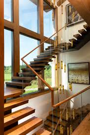 Entry Stairs Design Purple Cherry Architects U2013 Annapolis Custom Waterfront Home