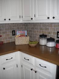 faux brick kitchen backsplash kitchen imaginative brick backsplash faux on faux brick