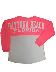 daytona beach color block jr long sleeve