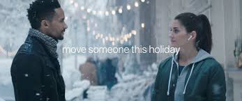 apple u0027s whimsical holiday ad is all about airpods music u0026 romance