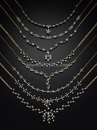 light diamond necklace images 8 simple diamond necklace models by bhima jewellers light weight jpg