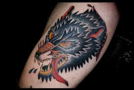 traditional wolf search tattoos
