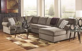 Leather Sectional Sofa Traditional Ideas Faux Leather Sectional Sofa Ashley And Ashley Sectional